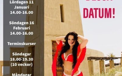 Schedule for belly dance classes