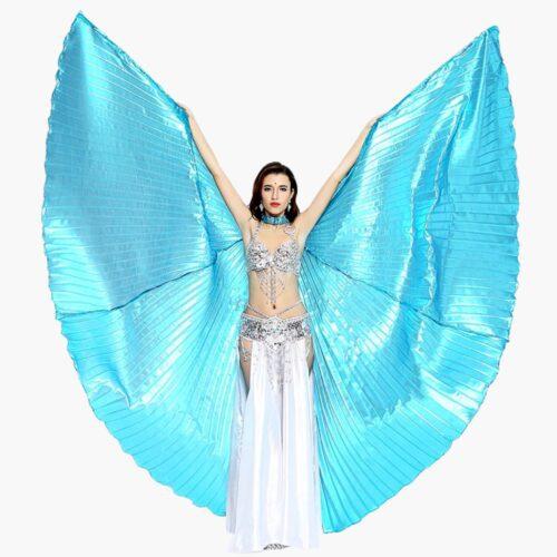 turkosa vingar till magdans