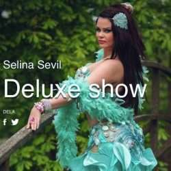 magdansshow boka magdansös deluxe hyra arabisk dansare