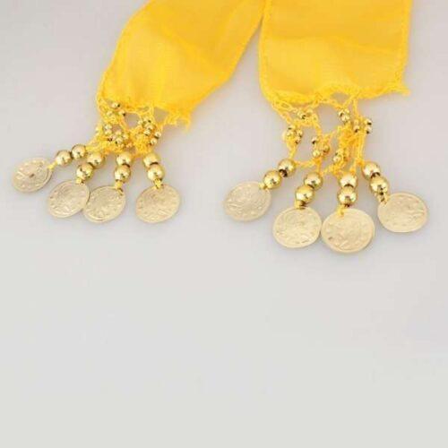 gul höftsjal med guldmynt4