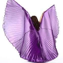 mörklila isisvingar orientalisk dans vingar