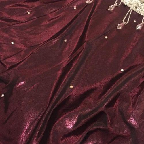 magdansdräkter vinröd metallic dansdräkt orientalisk dans5