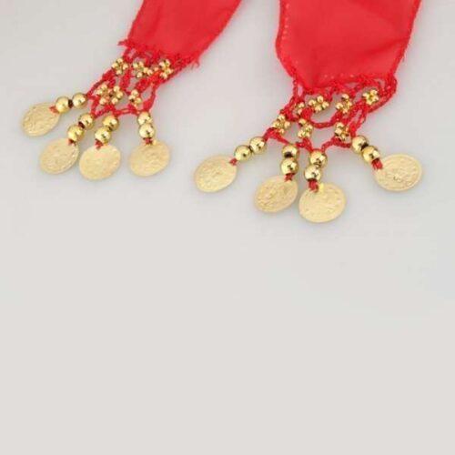 rödhöftsjal med guldrmynt5