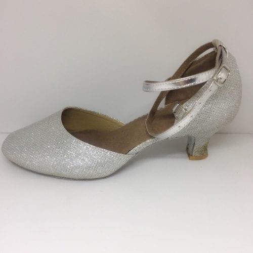 silver dansskor för magdans och latinamerikansk dans2