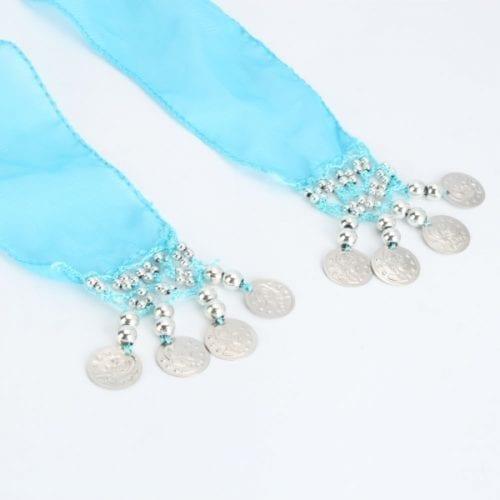 turkos höftsjal med silvermynt4