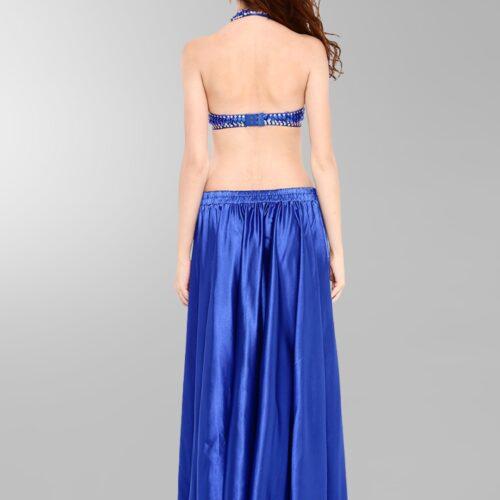 mörkblå magdans kjol5