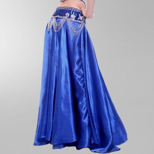 mörkblå magdans kjol2