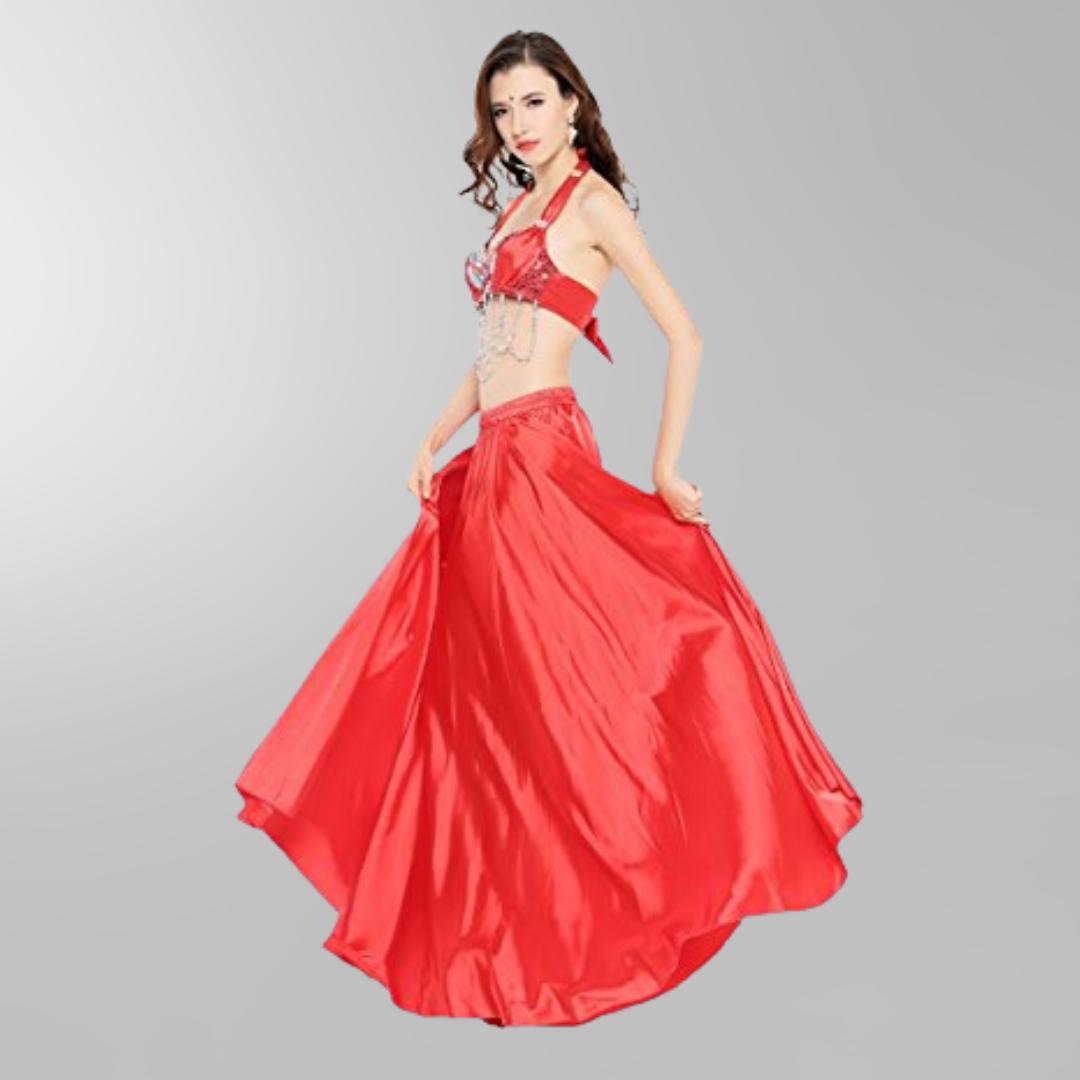 röd magdans kjol2