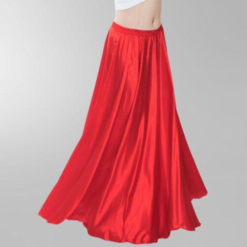 röd magdans kjol5