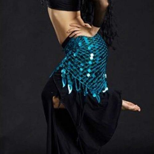 turkos höftsjal orientalisk dans2