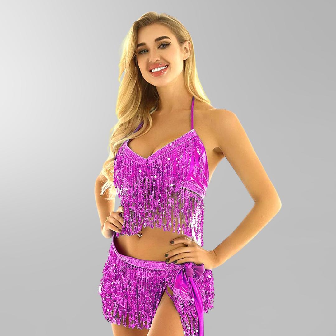 magdansbälte-skakbälte-danssjal-rosa-paljetter