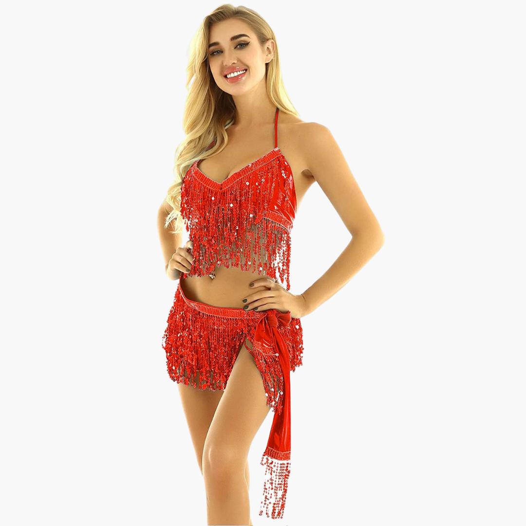magdanskläder-magdansös-orientalisk-dans-röd